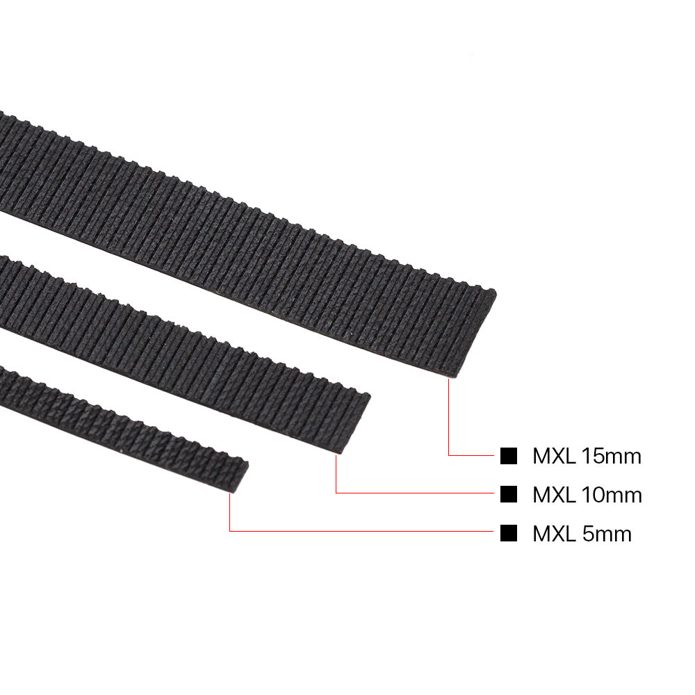 Cloudray MXL-5M Open-ended Timing Belt Width 5-15mm - Cloudray Motor