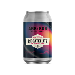 BIOSATELLITE Imperial IPA (single 355mL can)