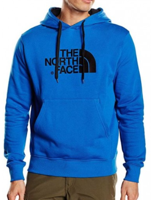 The North Face Hoodie Blau Herren