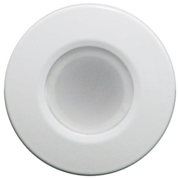 Lumitec Orbit - Flush Mount Down Light - White Finish - 2-Color Blue/White Dimming [112521]