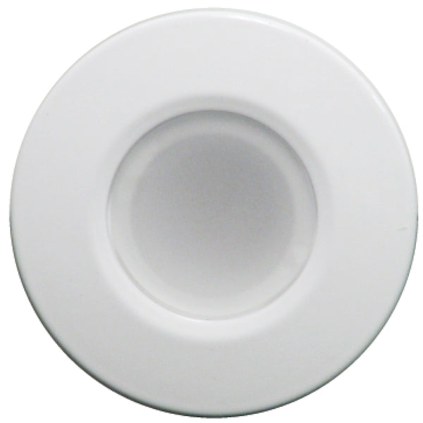 Lumitec Orbit - Flush Mount Down Light - White Finish - White Non-Dimming [112523]