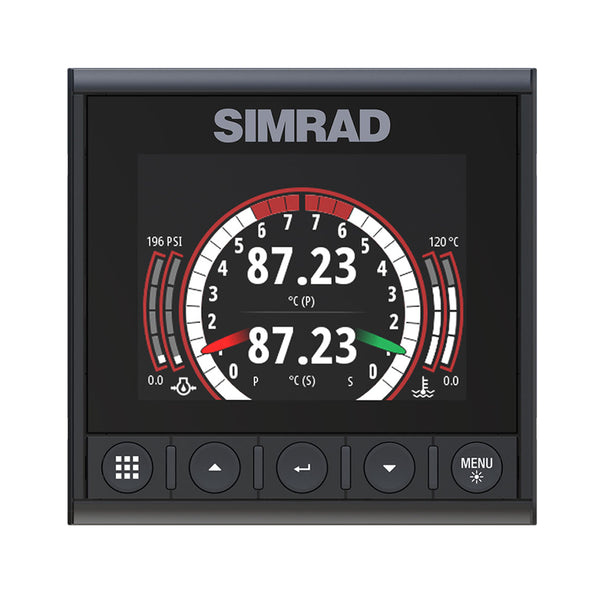 Simrad IS42J Instrument Links J1939 Diesel Engines to NMEA 2000 Network [000-14479-001]