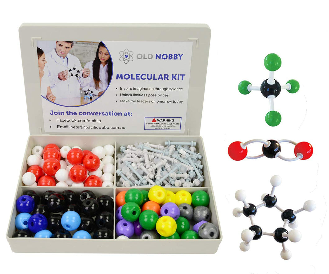 Organic Chemistry Model Kit - 239 Pieces