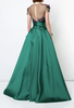 Marchesa Notte Green Gown