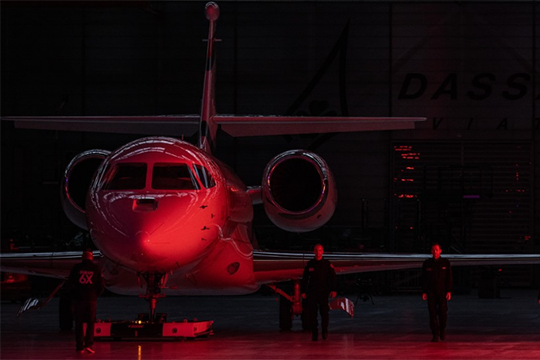 Dassault Aviation Rolls Out Falcon 6X, New Standard in Long-Range, Ultra Widebody Segment