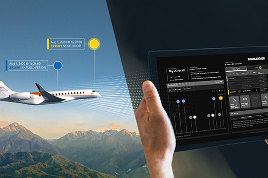 Bombardier Takes Next Steps Its Smart Link Plus Connected Aircraft Program Now Booking Service