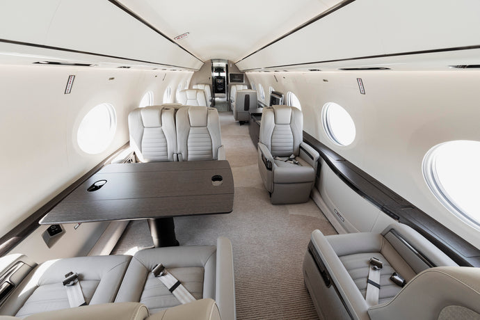 GULFSTREAM FLIES FIRST FULLY OUTFITTED G700