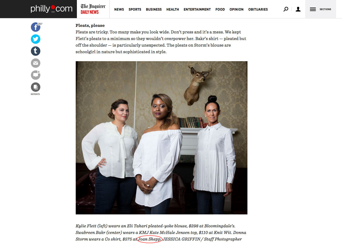 philadelphia philly.com press philly fashion joan shepp white shirt fall elizabeth wellington
