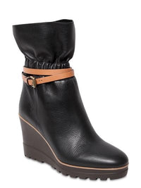 SEE BY CHLOÉ | Wedge Leather Ankle Robin Boot