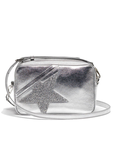 GOLDEN GOOSE | 'Star' Bag in Silver