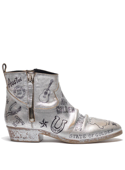 GOLDEN GOOSE | 'Viand' Ankle Boots
