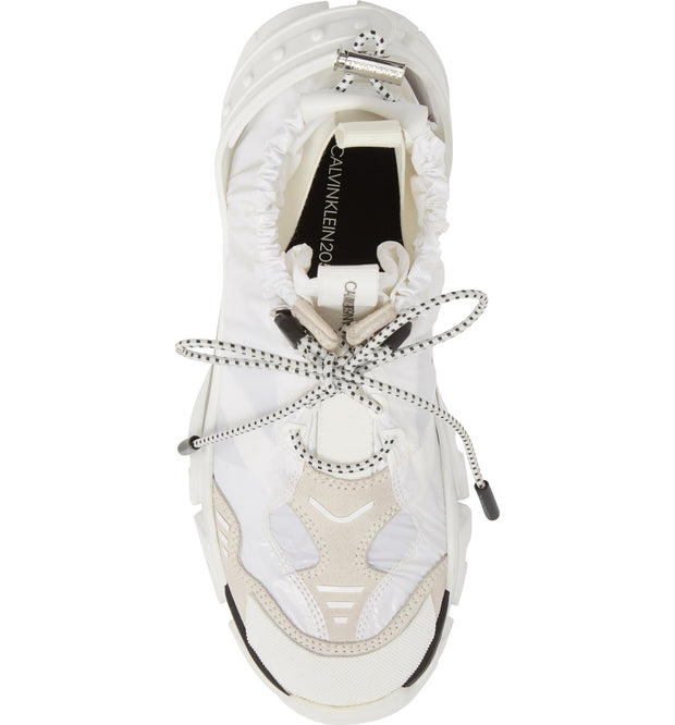 CALVIN KLEIN 205W39NYC | Drawstring Candessa Slip-On Sneakers in White