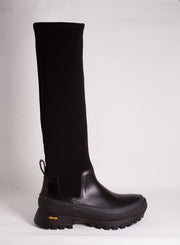JIL SANDER | Knee-High Neoprene Boot