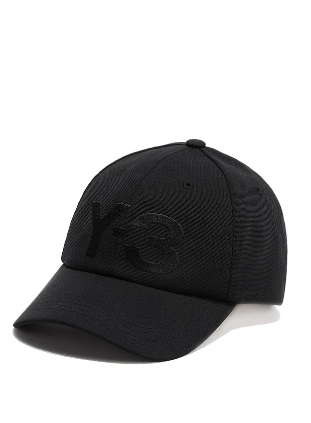Y-3 | Logo Cap in Black