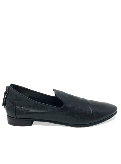MARSÈLL | 'Colteldino-Pantofola' Back Zip Leather Loafers