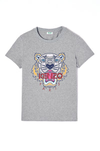 KENZO | Tiger Classic Short Sleeve T-Shirt in Grey