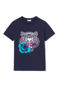 KENZO | Floral Tiger Relaxed Short Sleeve T-Shirt