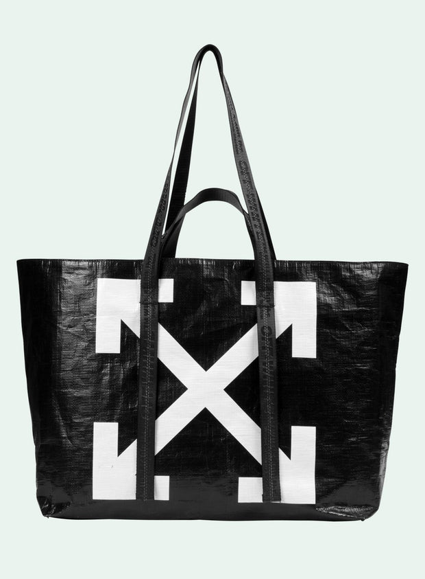 OFF-WHITE | Arrows Commercial Tote Bag, Black