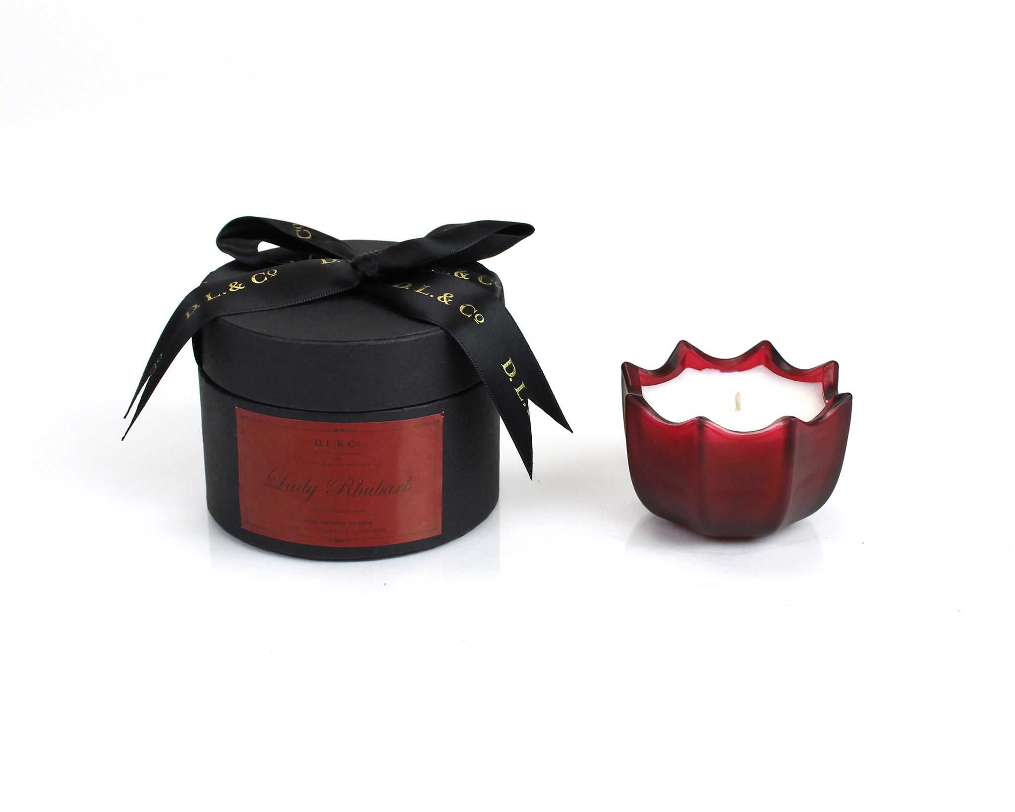 Holiday Scalloped Candles (More sizes)