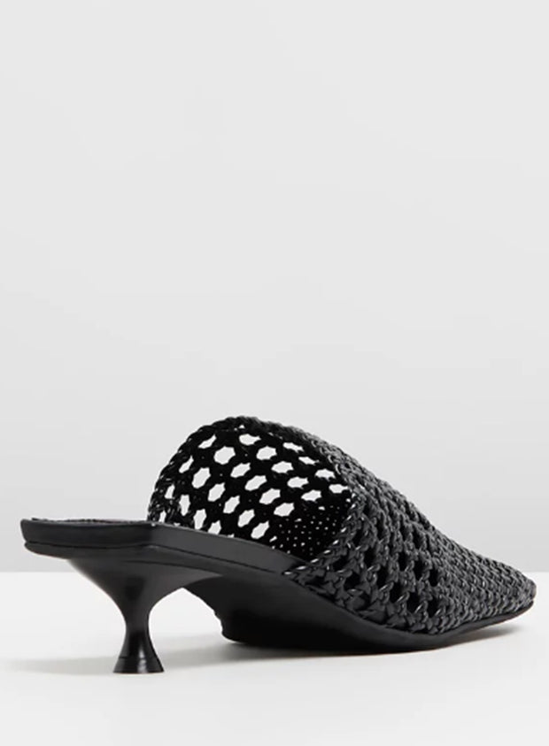 JEFFREY CAMPBELL | 'Sleek' Woven Square Toe Mule