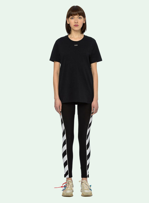 OFF-WHITE | Carryover Graphic T-Shirt With Crystals