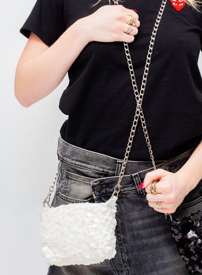 JUNYA WATANABE | Sequin Embellished Mini Bag