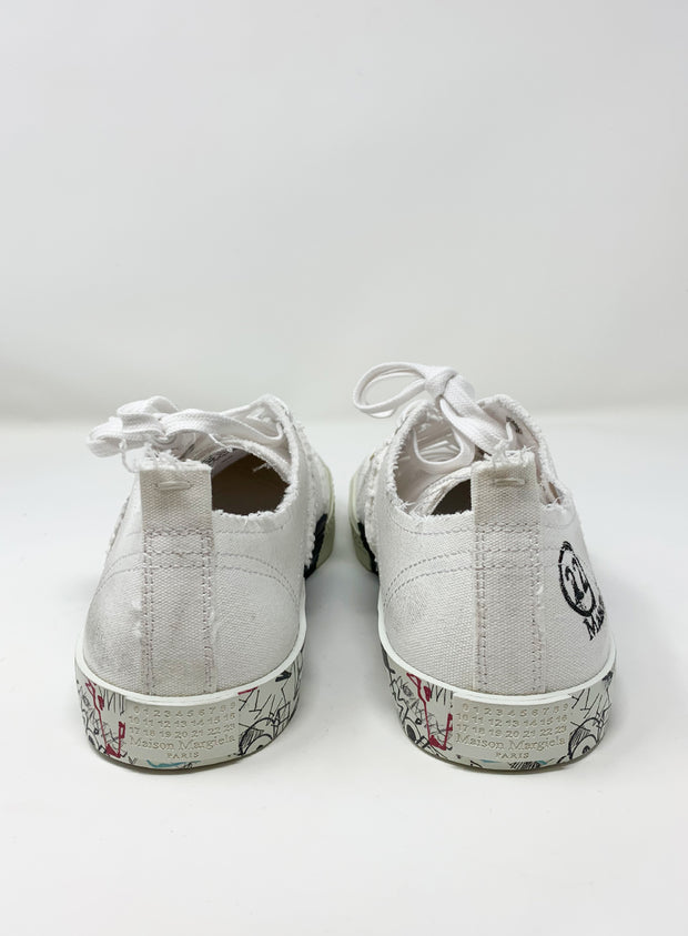MAISON MARGIELA | Low-Top Graffiti Sneakers