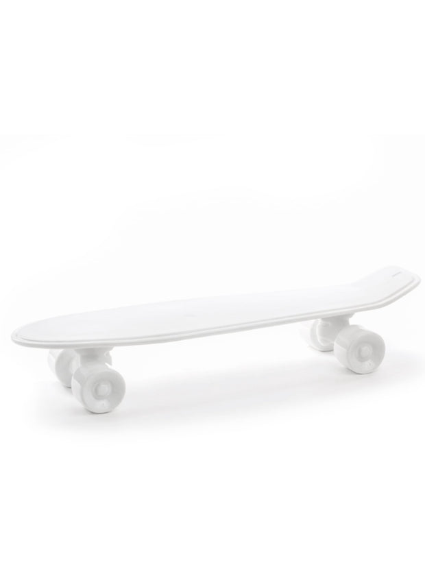 SELETTI | Skateboard Porcelain Tray in White