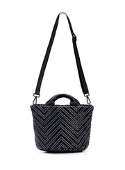 DANIELLA LEHAVI | Agadir Mini Bucket Bag in Black