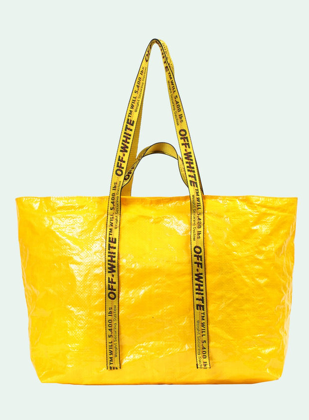 OFF-WHITE | Arrows Commercial Tote Bag, Yellow
