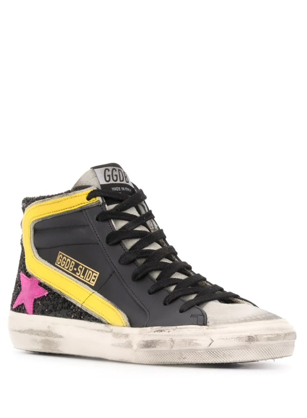 GOLDEN GOOSE | Slide High-Top Sneakers