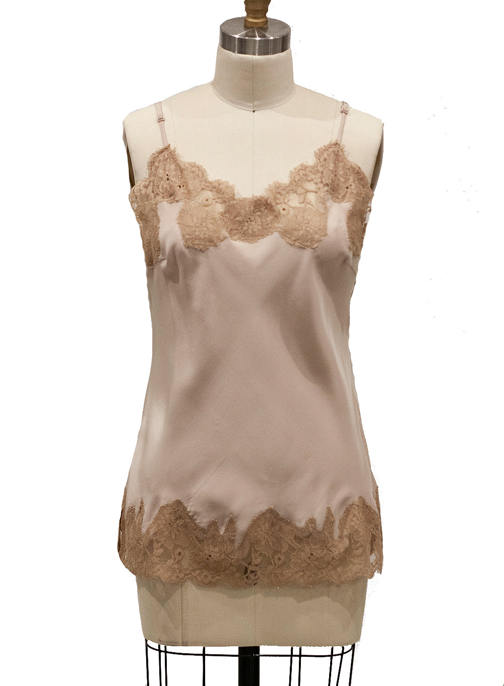 GOLDHAWK | Lace Marilyn Top in Nude/Sand