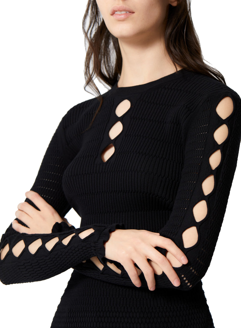 KENZO | Lacehole Sweater in Black