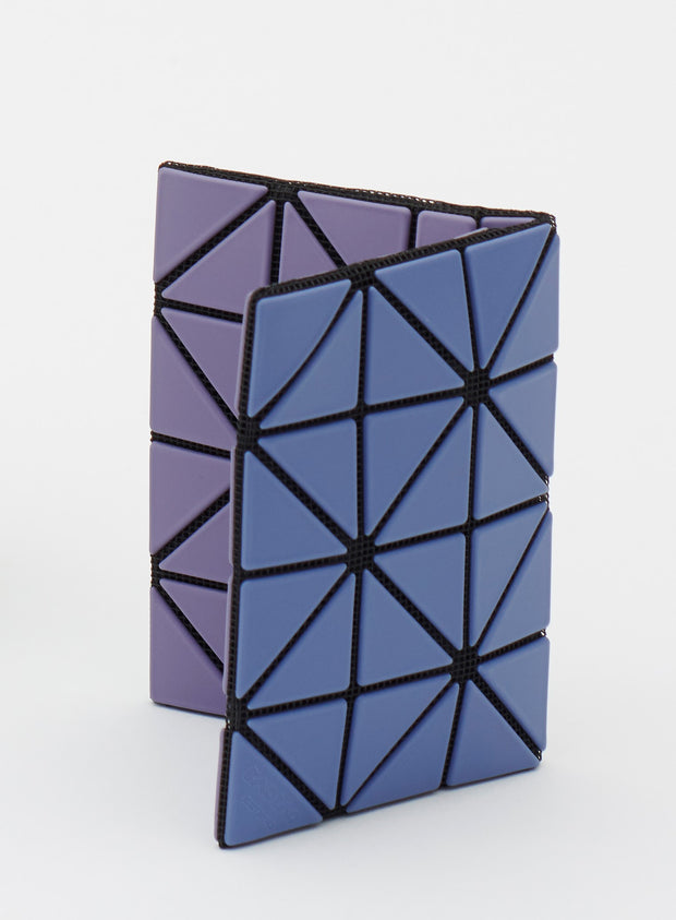 BAO BAO by ISSEY MIYAKE | Card Case 2 Tone Purple/Blue