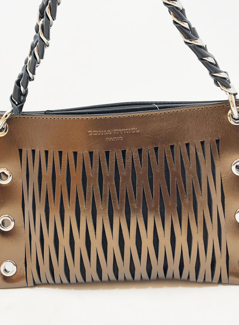 SONIA RYKIEL | Perforated Chain Bag