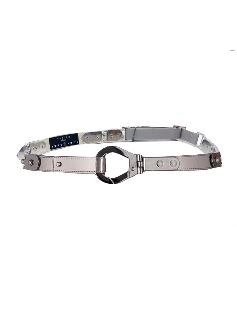SUZI ROHER | 'Mae' Belt With Silver Hardware