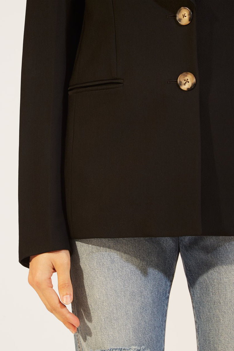 KHAITE | The Alexis Blazer in Black