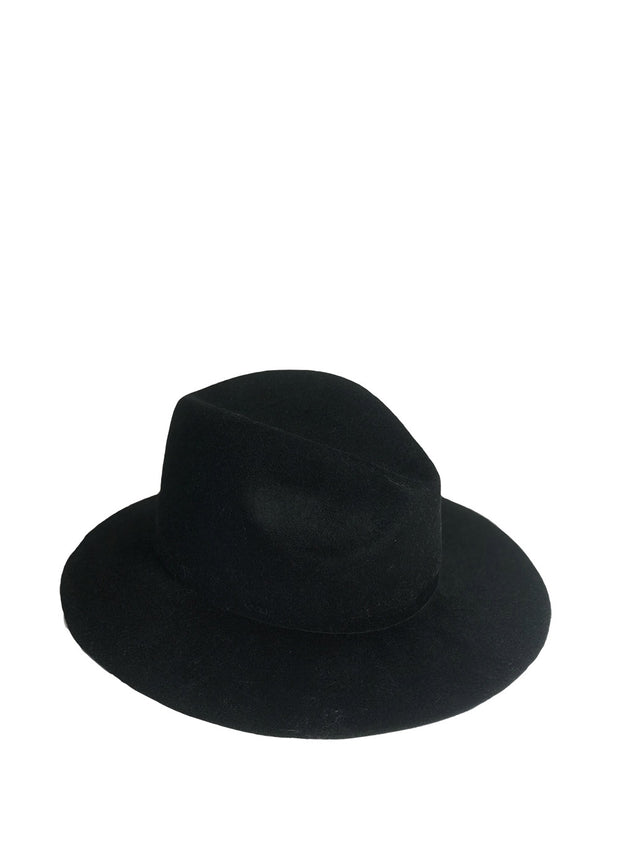 REINHARD PLANK | Beghe Velour Hat in Black