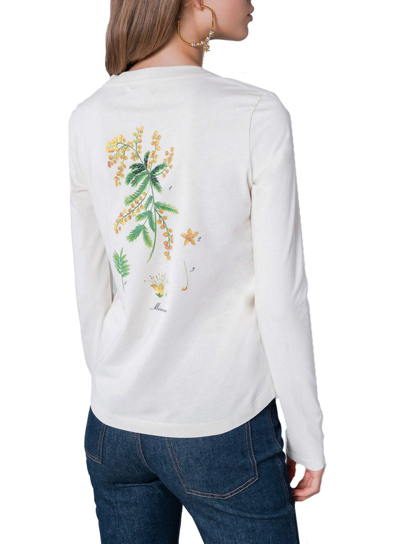 SONIA RYKIEL | Long-Sleeved Mimosa Print T-Shirt