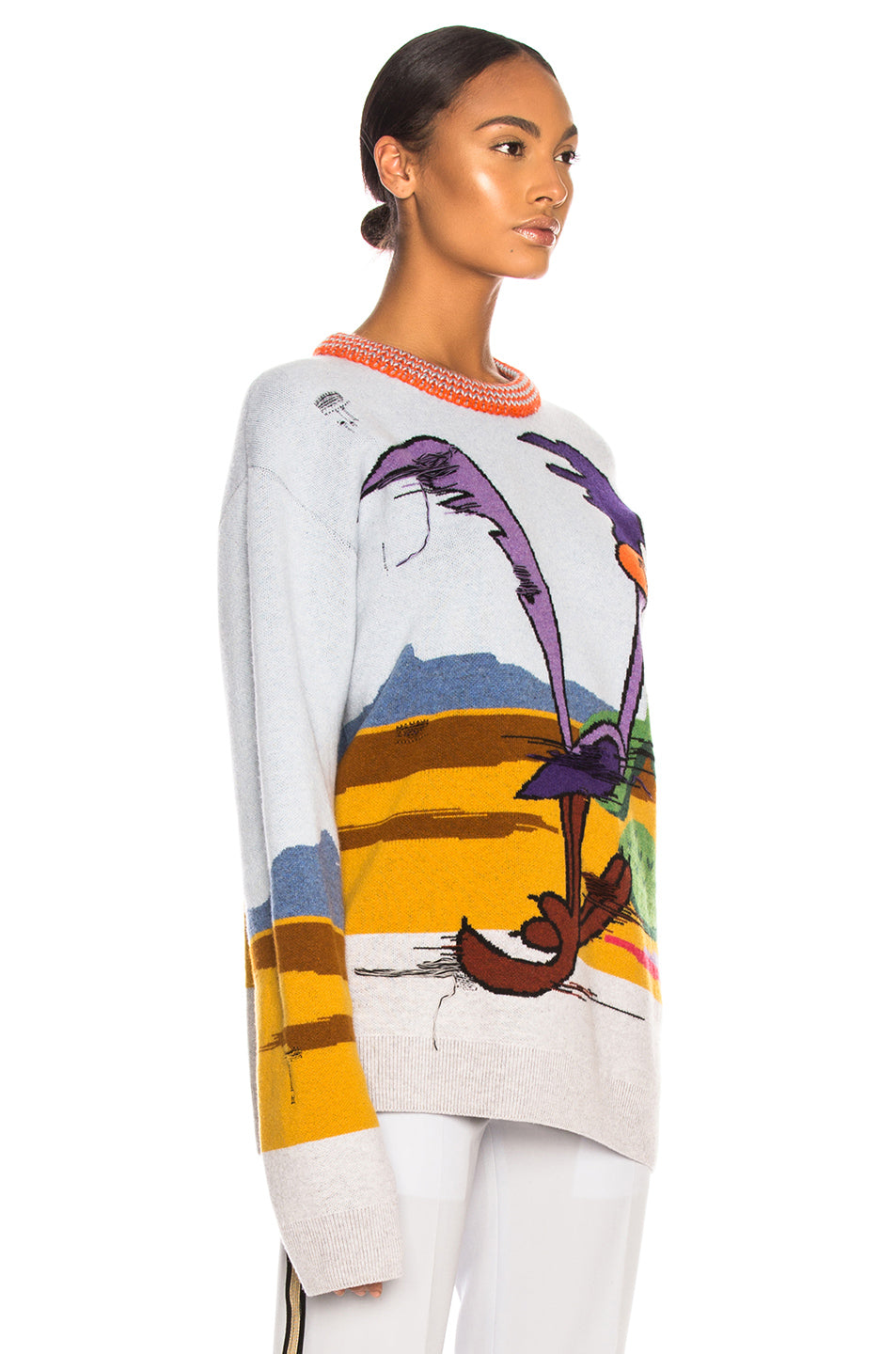 CALVIN KLEIN 205W39NYC | Jacquard Looney Tunes Crewneck Sweater