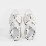 MM6 MAISON MARGIELA | Platform Sport Sandals in White