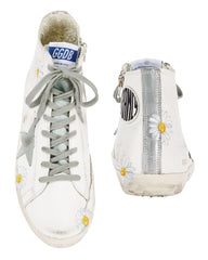 GOLDEN GOOSE | White Daisy Francy Sneakers