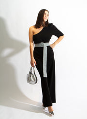 STELLA MCCARTNEY | Wide-Leg Knitted Jumpsuit