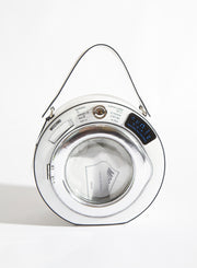MOSCHINO | Washing Machine Round Leather Bag