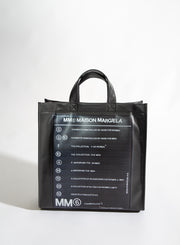 MM6 MAISON MARGIELA | Logo Print Tote/Backpack
