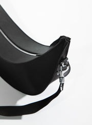 MM6 MAISON MARGIELA | Moon Shaped Bag in Black