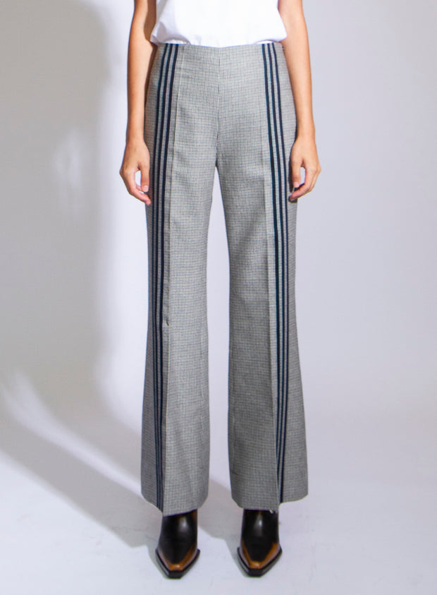 MAISON MARGIELA | Plaid Pants With Stripes