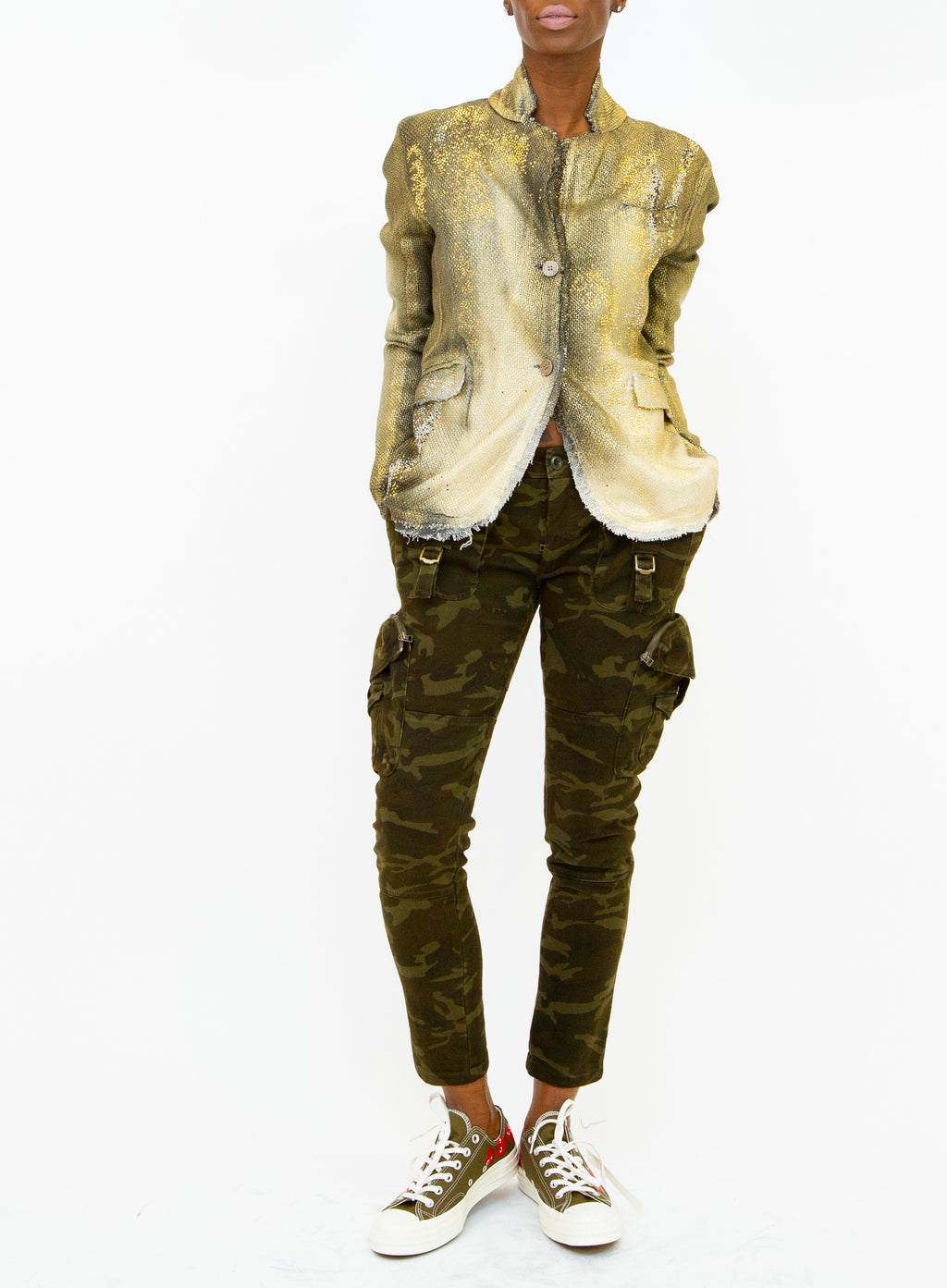 FAITH CONNEXION | Camouflage-Print Cargo Pants