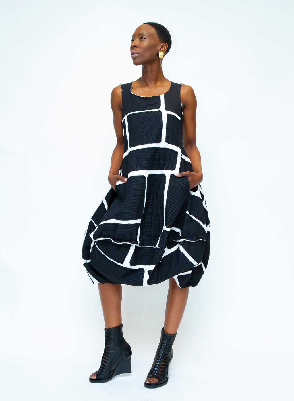 RUNDHOLZ | Black Label Black & White Dress