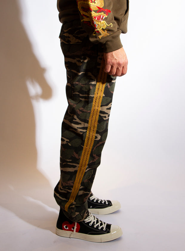 MAHARISHI | Camo Suka Trackpants in Woodland